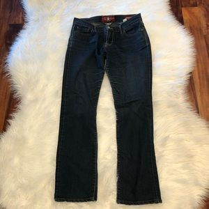 Lucky brand jeans 👖 sweet n straight size 4/27